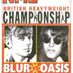 NME covers  Blur v Oasis: 12 August 1995