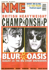 NME covers – Blur v Oasis: 12 August 1995