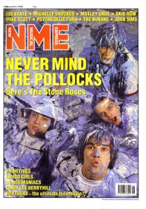 NME covers – The Stone Roses: 18 November 1989