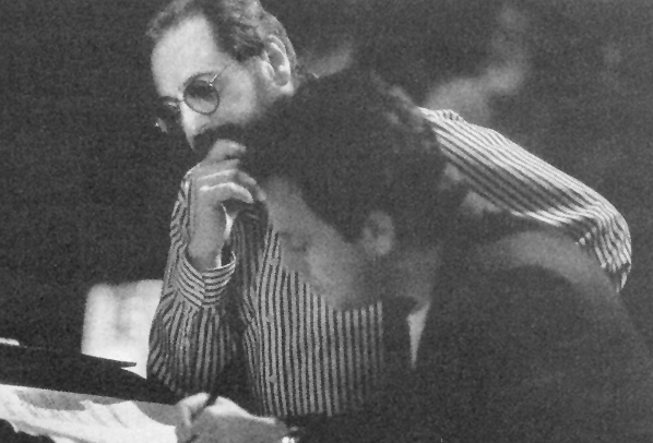 Phil Ramone with Billy Joel in 1986