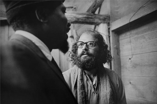 Monk and Ginsberg (1963)