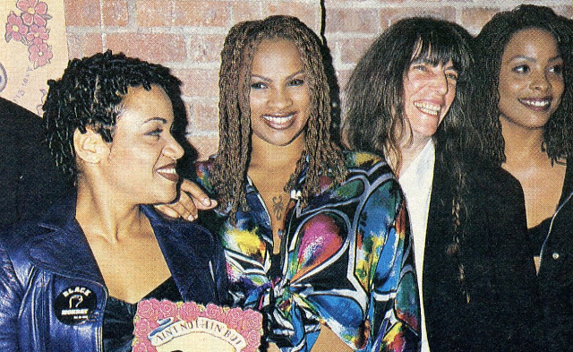 Salt-N-Pepa and Patti Smith