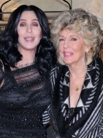 Singer Cher with her mother Georgia Holt