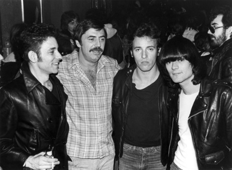 Robert Gordon, Tommy Dean, Bruce Springsteen and Dee Dee Ramone
