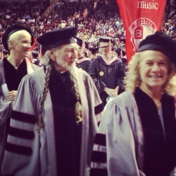 Dr. Annie Lennox, Dr. Willie Nelson & Dr. Carole King