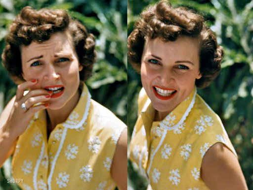 Los Angeles circa 1952. Betty White