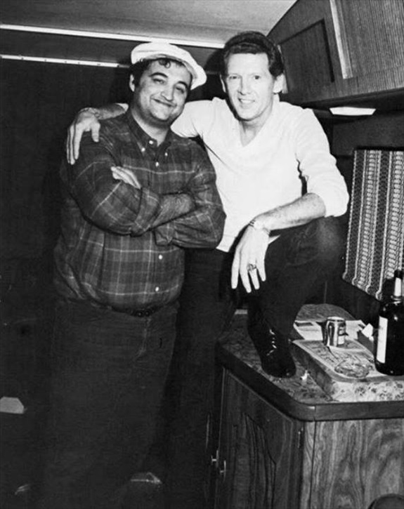 John Belushi and Jerry Lee Lewis