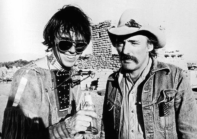 Neil Young and Dennis Hopper