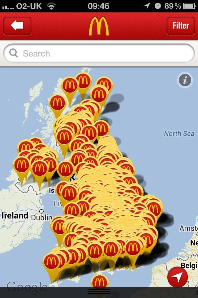 Siri where is the closest McDonald's