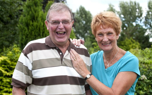 Since suffering a stroke in 2004, Malcolm Myatt has been unable to feel sadness.