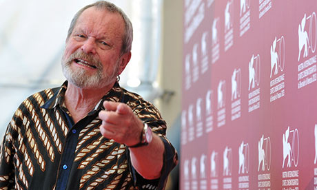 US director Terry Gilliam, whose new film The Zero Theorem completes a dystopian trilogy. Photograph: Tiziana Fabi/AFP/Getty Images