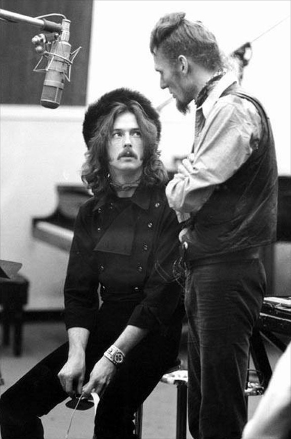 Ginger Baker and Eric Clapton by Pattie Boyd. | Pics kept '-a ...