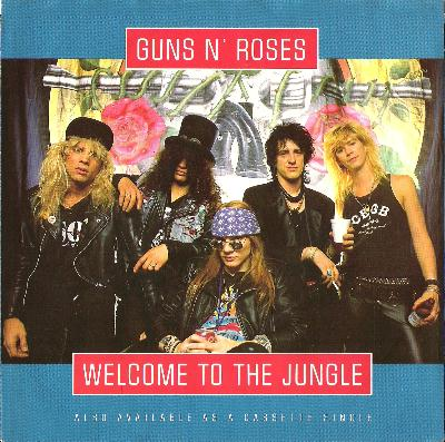 Guns n roses welcome to the jungle скачать