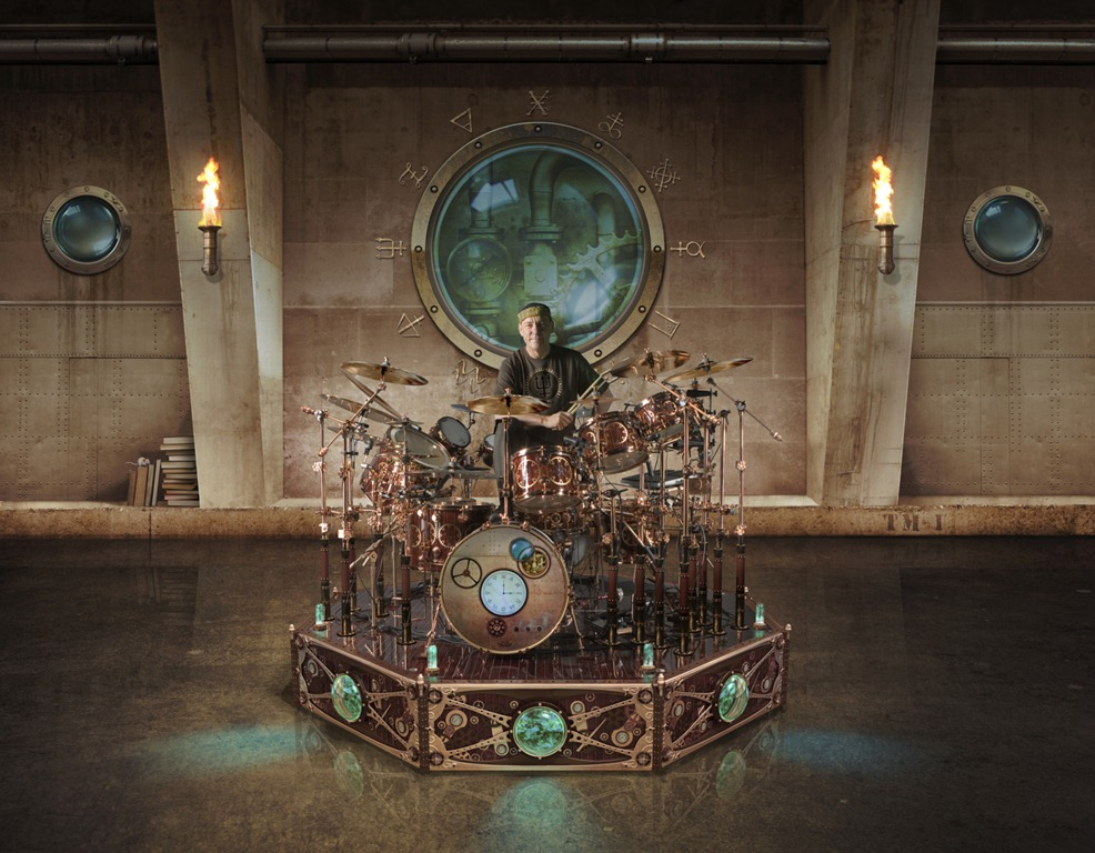 Want To See Neil Peart S Time Machine Drum Kit Up Close That Eric