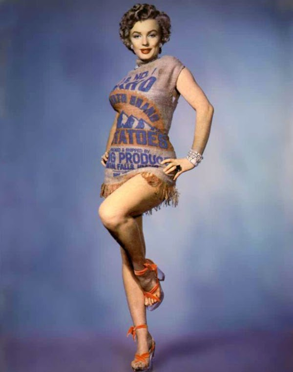 Marilyn and the Potato Sack Dress, c (2)