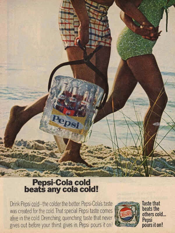 Pepsi Ads from 1960′s (2)
