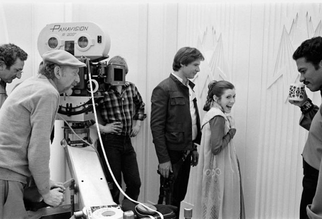 Behind the Scenes Photos from The Empire Strikes Back, 1980 (1)