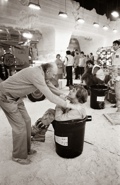 Behind the Scenes Photos from The Empire Strikes Back, 1980 (43)