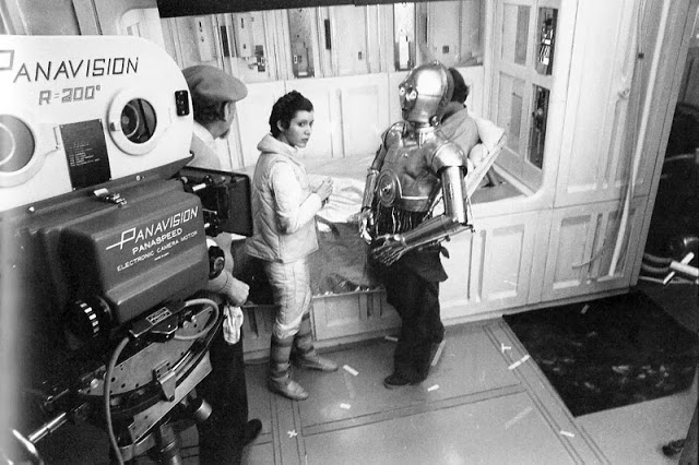 Behind the Scenes Photos from The Empire Strikes Back, 1980 (51)