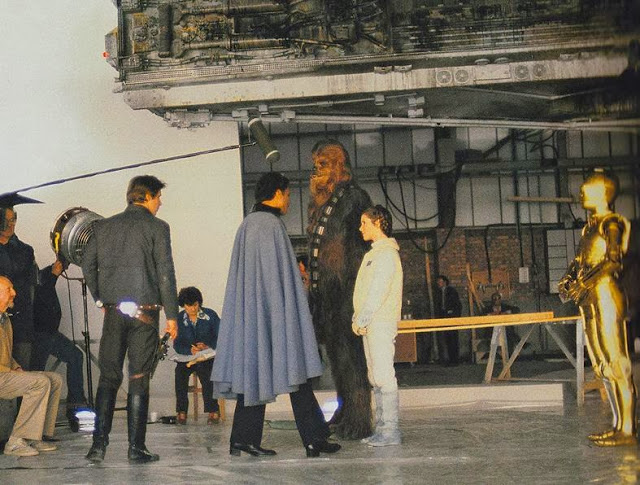 Behind the Scenes Photos from The Empire Strikes Back, 1980 (54)