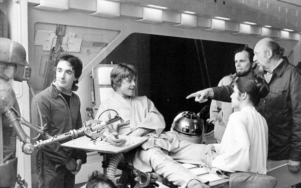 Behind the Scenes Photos from The Empire Strikes Back, 1980 (6)
