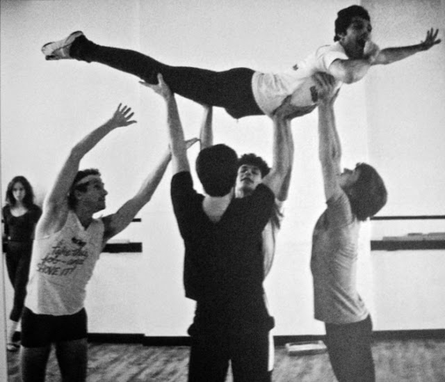 Freddie Mercury rehearsing with the Royal Ballet in 1979 (7)