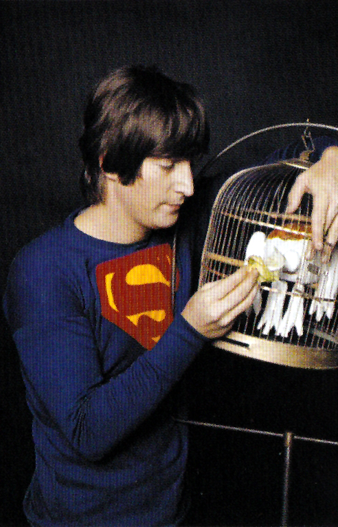 John Lennon Wearing a Superman Shirt, 1965 (3)