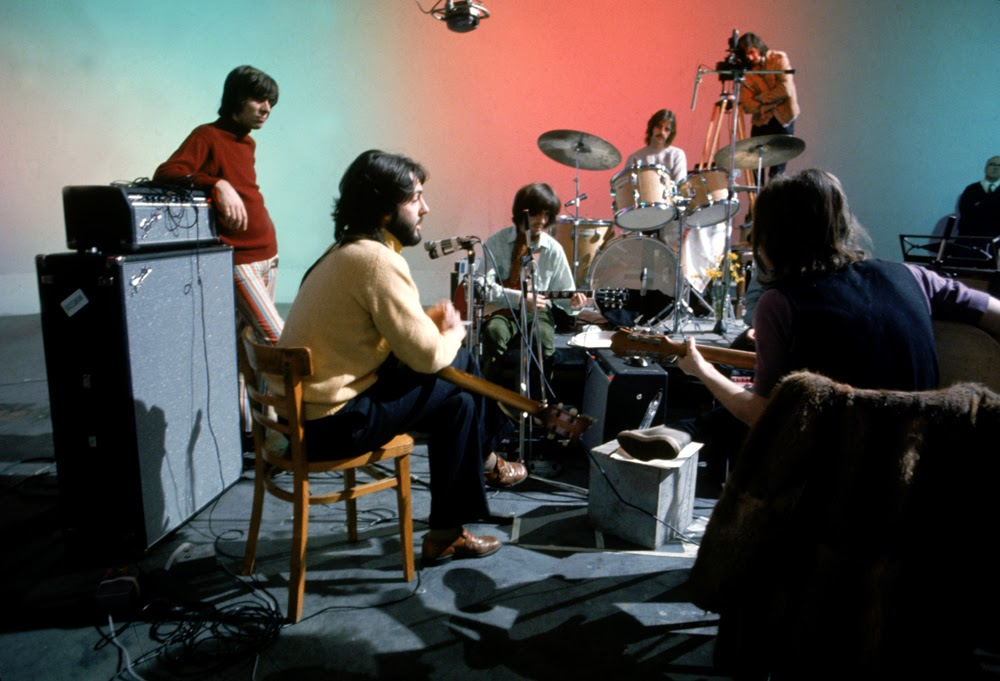 The Beatles in The 'Let It Be' Sessions in January 1969 (2)