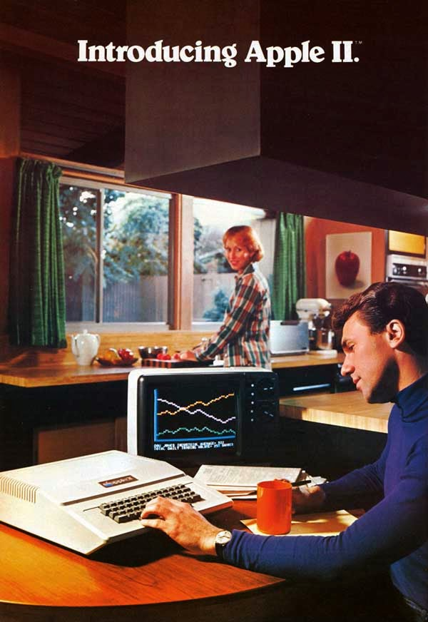 Vintage Apple Ads in the 1970s-80s (2)