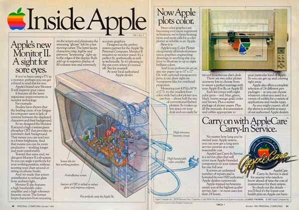 Vintage Apple Ads in the 1970s-80s (27)