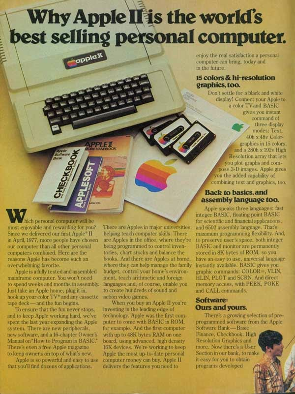 Vintage Apple Ads in the 1970s-80s (6)