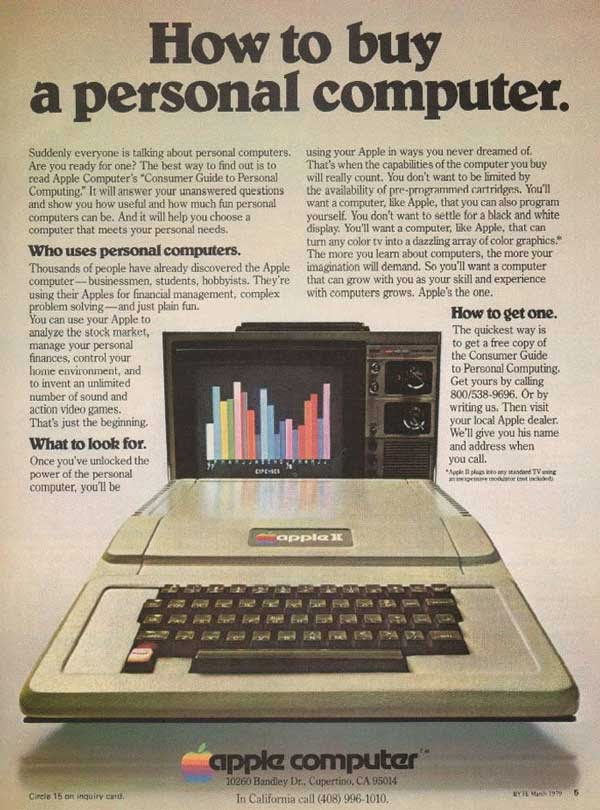 Vintage Apple Ads in the 1970s-80s (8)