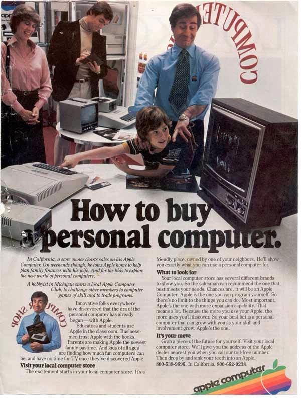 Vintage Apple Ads in the 1970s-80s (9)