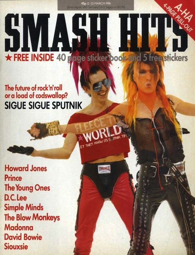 Smash Hits Covers from The '80s (2)