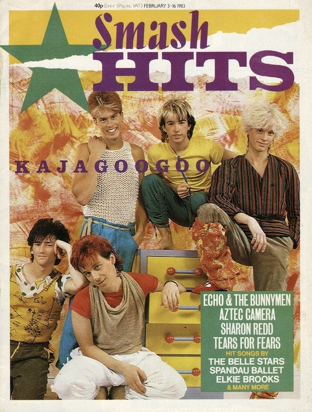 Smash Hits Covers from The '80s (5)