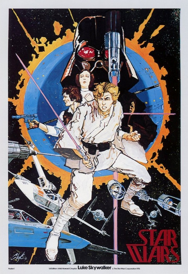 Star Wars Theatrical Posters Around The World in 1977 (2)
