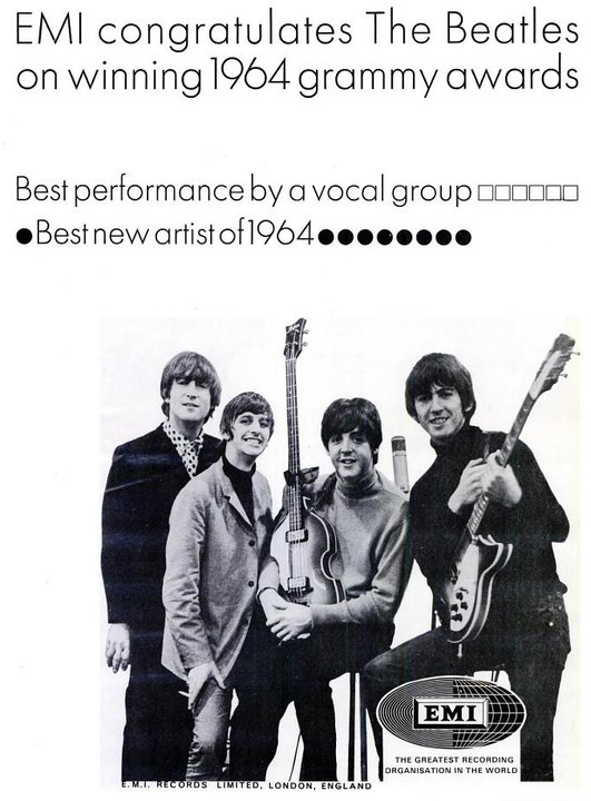 The Beatles' Vintage Ads (1)