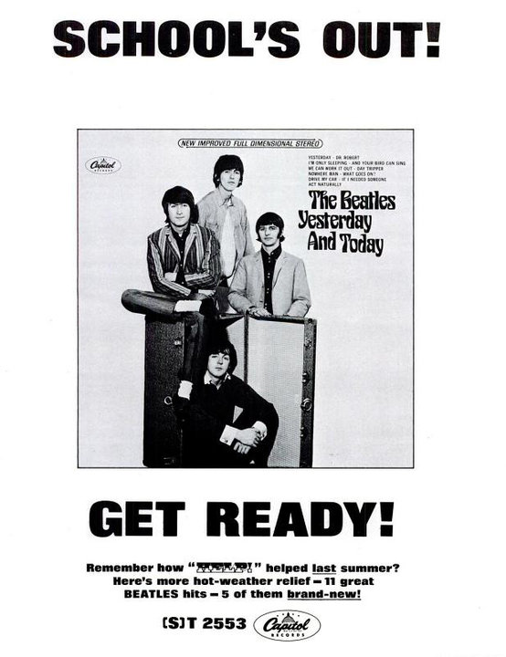 The Beatles' Vintage Ads (11)