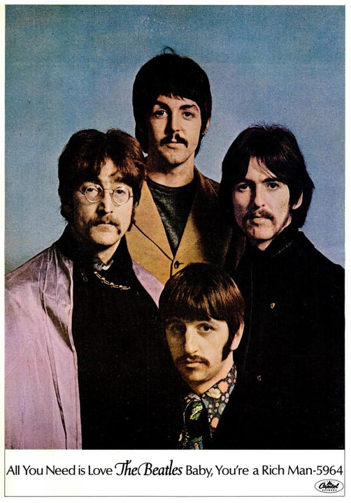 The Beatles' Vintage Ads (13)