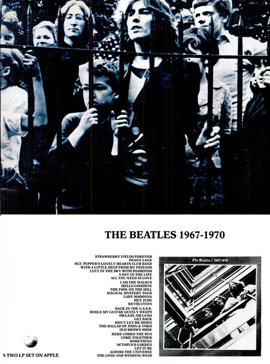 The Beatles' Vintage Ads (20)