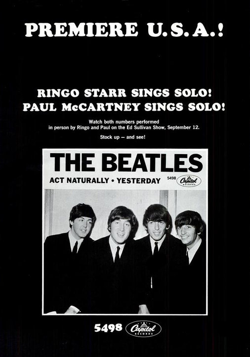 The Beatles' Vintage Ads (5)