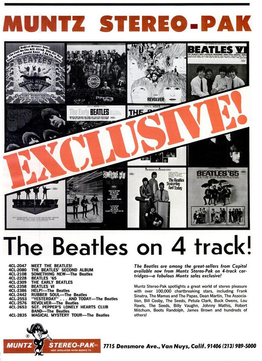 The Beatles' Vintage Ads (6)