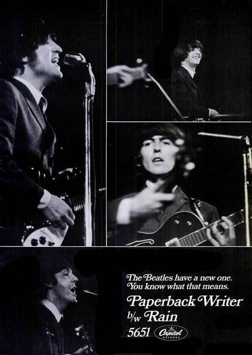 The Beatles' Vintage Ads (9)