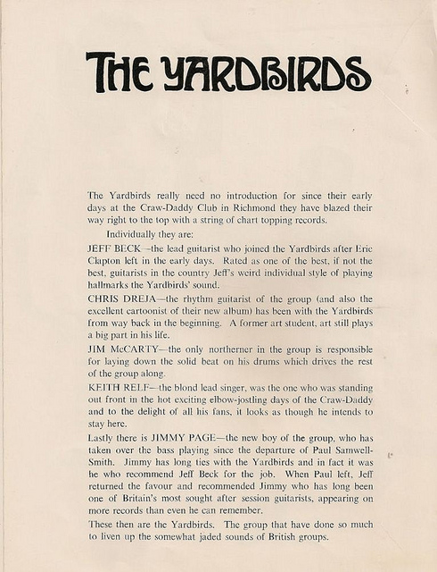 The Rolling Stones' 1966 Tour Programme (10)