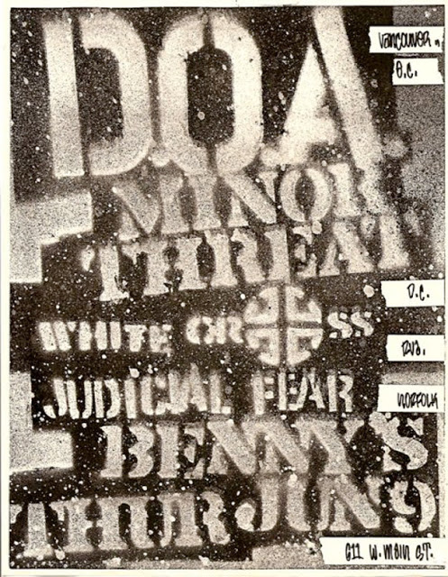 Amazing Punk Flyers & Posters from The 80s (11)