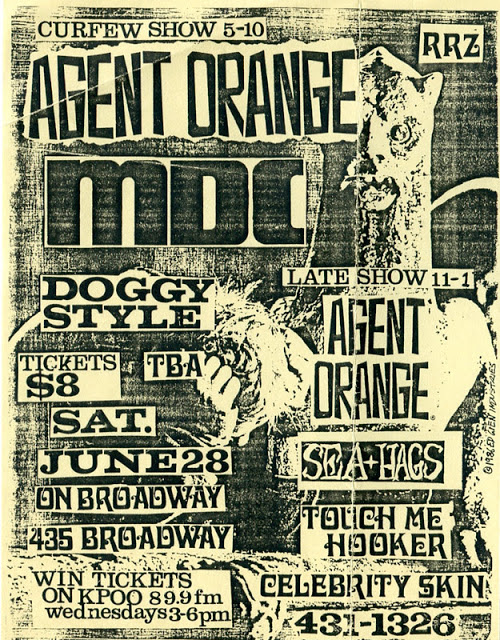 Amazing Punk Flyers & Posters from The 80s (17)