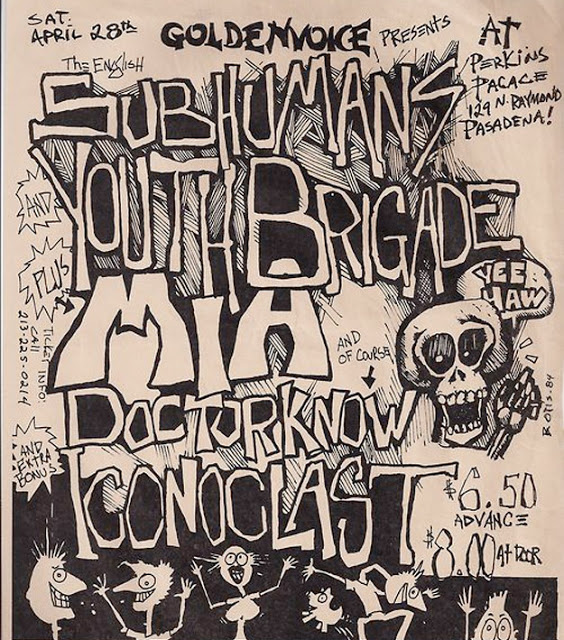 Amazing Punk Flyers & Posters from The 80s (18)