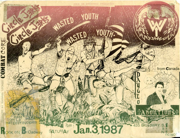 Amazing Punk Flyers & Posters from The 80s (20)