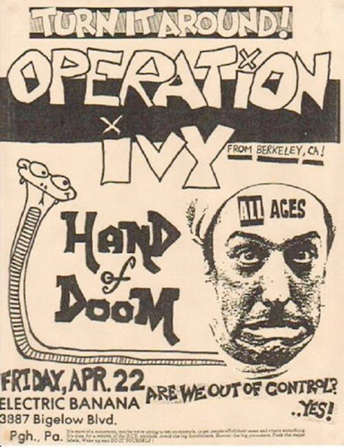 Amazing Punk Flyers & Posters from The 80s (28)