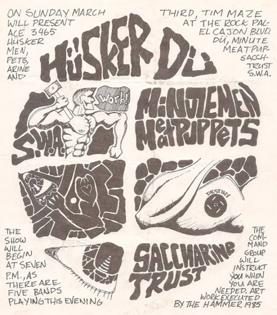 Amazing Punk Flyers & Posters from The 80s (29)